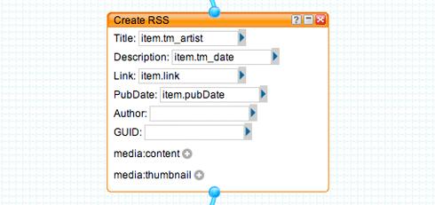 Create RSS