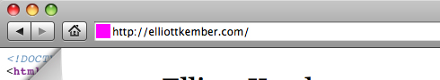 Elliott Kember Website