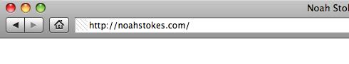 Noah Stokes Website