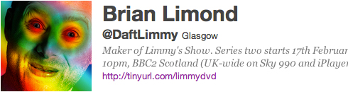 Limmy's Twitter account