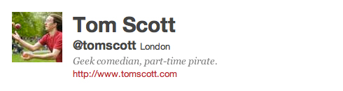 Tom Scott on Twitter