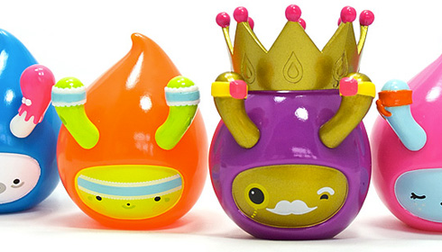 Droplets. What more can I say? Buy the poop-shaped toys already!