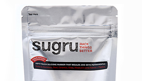 sugru: You don't need to be Jonny Lee Miller to hack stuff.